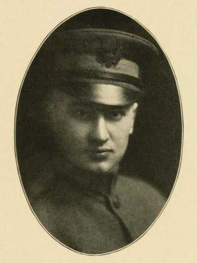 Lieutenant L. HUGO KELLER Company A 150th Machine Gun Battalion WWI
