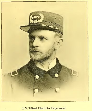 J. N. Tillard, Altoona City Fire Chief 1895