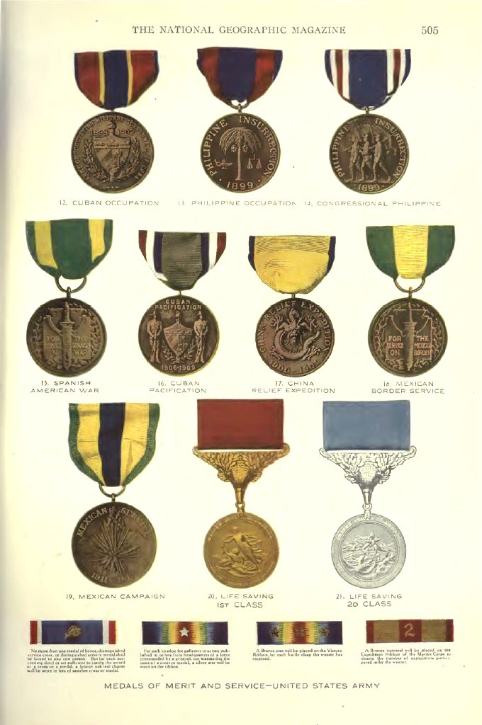 WWI Medals and Insignia